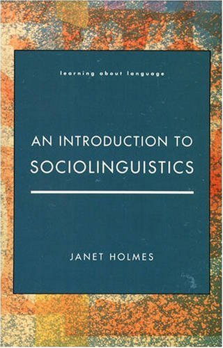 9780582060623: An Introduction to Sociolinguistics