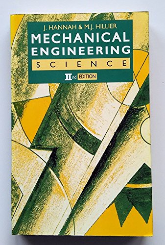9780582061576: Mechanical Engineering Science (2nd Edition)