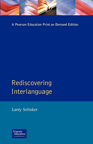 9780582064010: Rediscovering Interlanguage (Applied Linguistics and Language Study)