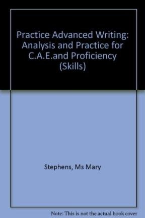9780582064379: Practise Advanced Writing Analysis and Practice for CAE and Proficiency (Skills)