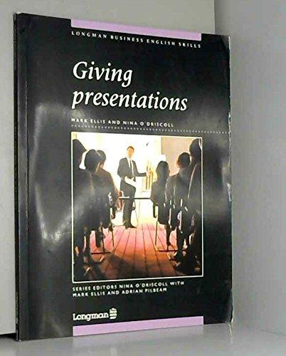 9780582064416: Giving Presentations (Longman Business English Skills)