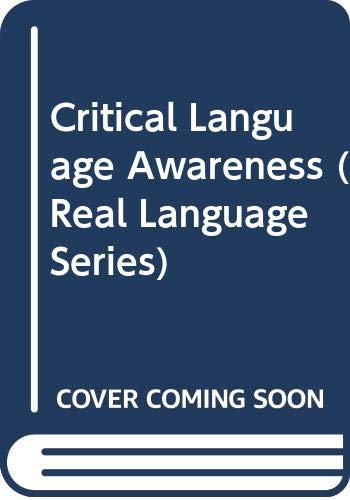 9780582064669: Critical Language Awareness (Real Language Series)