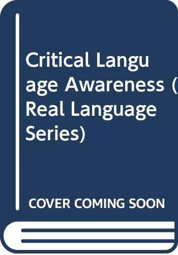 9780582064669: Critical Language Awareness (Real Language Series)