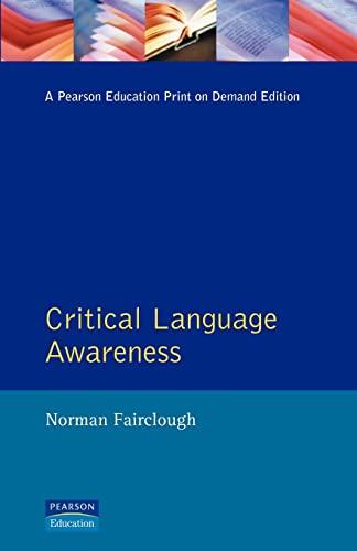 9780582064676: Critical Language Awareness (Real Language Series)
