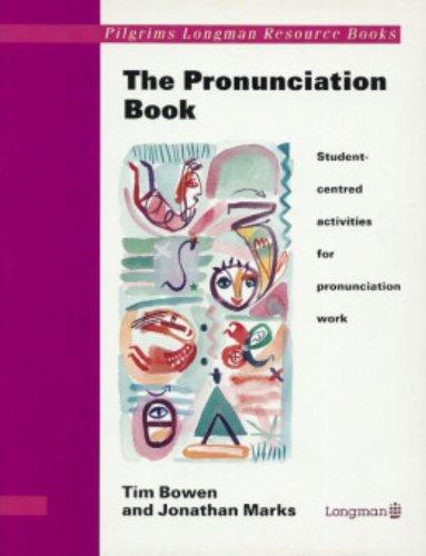 9780582064911: Pilgrims: Pronunciation Book (Pilgrims Longman Resource Books)