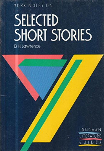 9780582065659: York Notes on D. H. Lawrence's Selected Short Stories