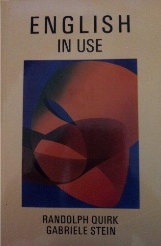 9780582066137: English in Use
