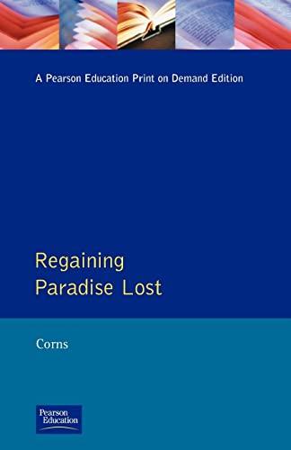 9780582066205: Regaining Paradise Lost (Longman Medieval and Renaissance Library)