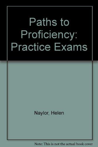 9780582067592: Paths to Proficiency: Practice Exams