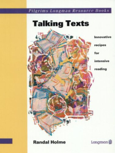9780582070028: Talking Texts: Innovative Recipes for Intensive Reading