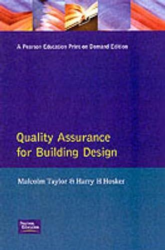 9780582072466: Quality Assurance for Building Design