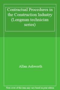 9780582076174: Contractual Procedures in the Construction Industry (Longman technician series)