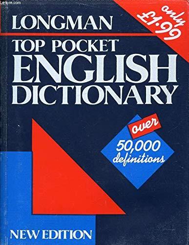 9780582076372: Top Pocket English Dictionary (Longman top pocket series)