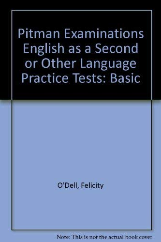 9780582076693: Pitman Examinations English as a Second or Other Language Practice Tests: Basic