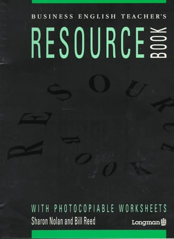 9780582078437: Business English Teacher's Resource Book: Longman Resource Books