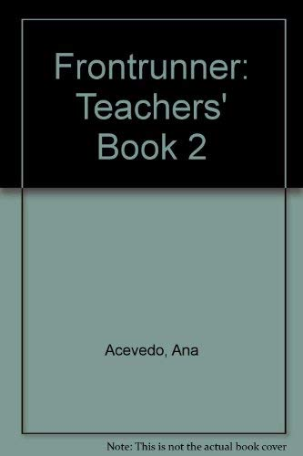 9780582079458: Frontrunner: Teachers' Book 2