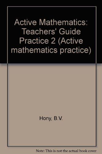 9780582084452: Active Mathematics: Teachers' Guide Practice 2 (Active mathematics practice)