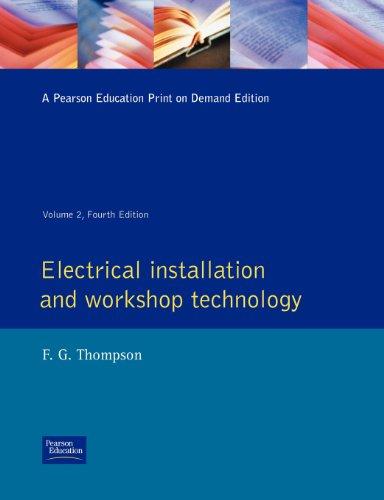 9780582085596: Electrical Installation and Workshop Technology: v.2