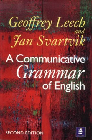 9780582085732: A Communicative Grammar of English