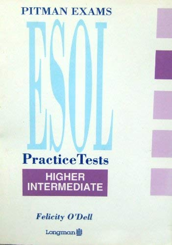 9780582086012: Pitman Examinations English as a Second or Other Language Practice Tests: Higher Intermediate