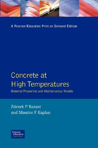 9780582086265: Concrete at High Temperatures: Material properties and mathematical models