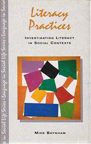 9780582087095: Literary Practices