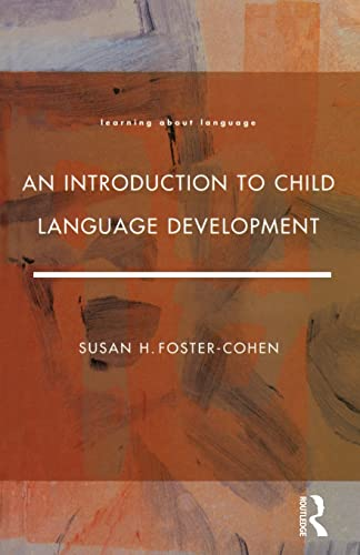 9780582087293: An Introduction to Child Language Development