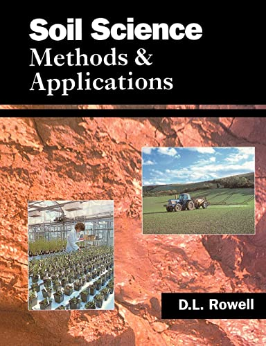 9780582087842: Soil Science: Methods & Applications: Methods and Applications