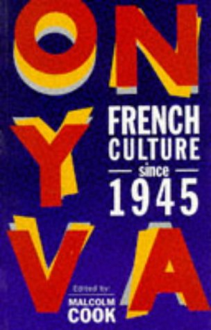 9780582088061: French Culture Since 1945