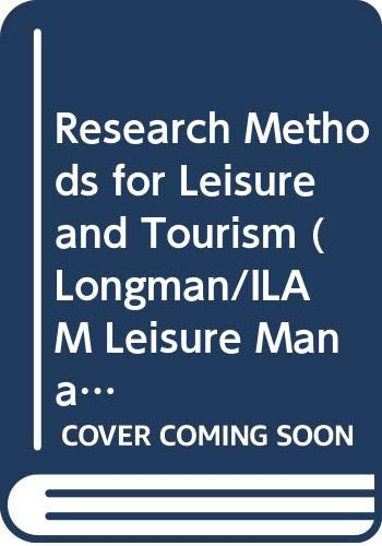 Research Methods for Leisure and Tourism: A: Veal, A.