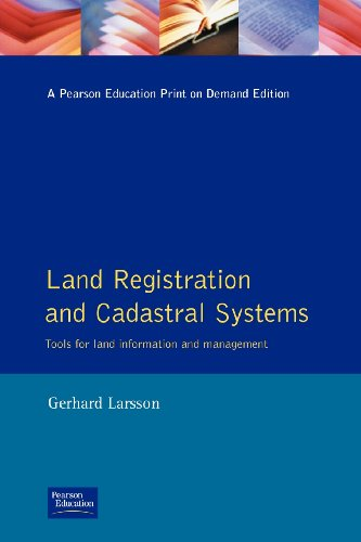 9780582089525: Land Registration & Cadastral Systems: Tools for Land Information and Management