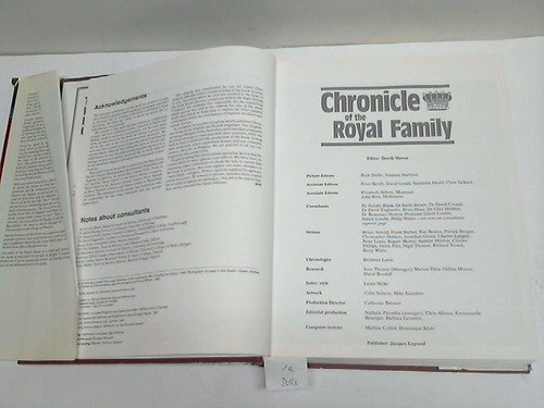 The Chronicle of the Royal Family: Derrik Mercer
