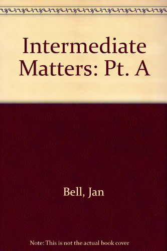 9780582092631: Intermediate Matters: Pt. A
