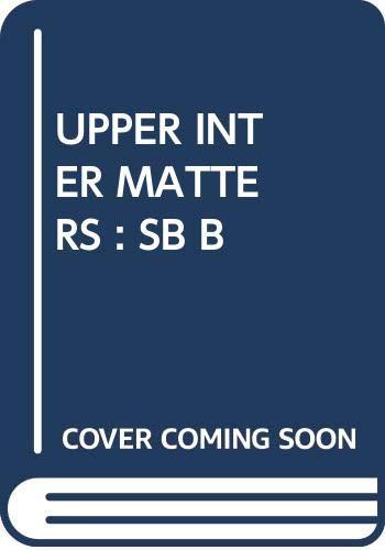 9780582092686: Upper Intermediate Matters: Pt. B