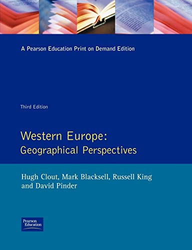9780582092839: Western Europe: Geographical Perspectives