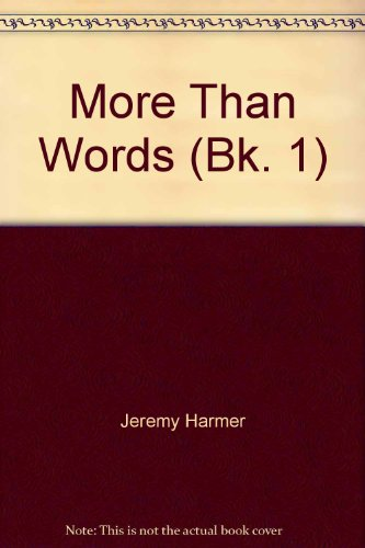 9780582094819: More Than Words: Vocabulary for Upper Intermediate to Advanced Students Bk. 1 (Longman)
