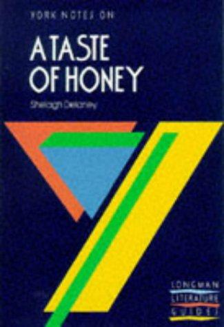 "9780582096448: York Notes on Shelagh Delaney's ""A Taste of Honey"""