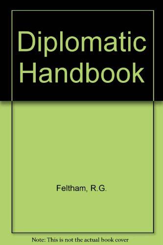 9780582099524: Diplomatic Handbook