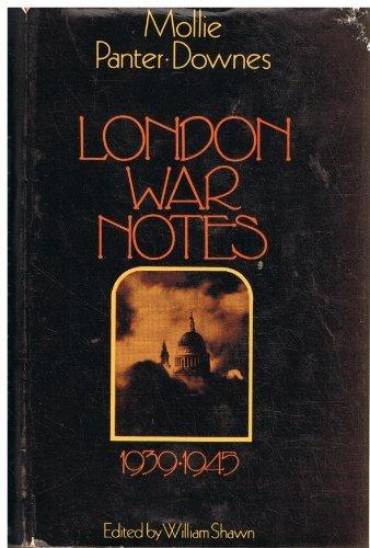 9780582101463: London War Notes