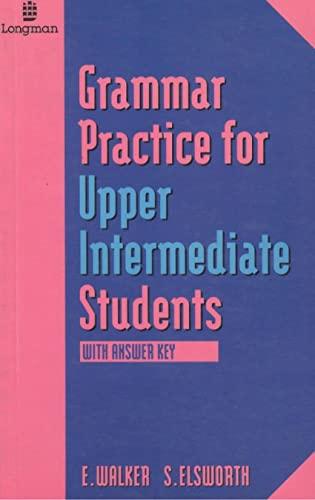 9780582103092: GRAMMAR PRACTISE FOR UPPER INTERMEDIATE STUDIENTS (GRPR)