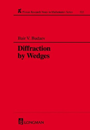 9780582103108: Diffraction by Wedges (Chapman & Hall/CRC Research Notes in Mathematics Series)