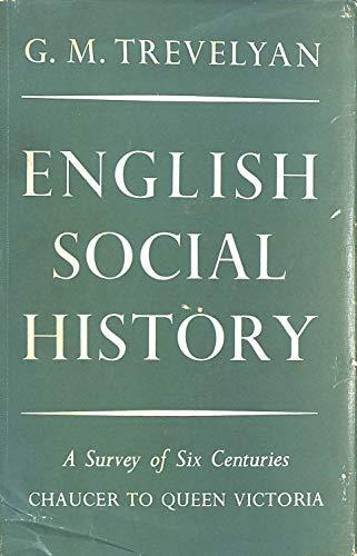 9780582113428: English Social History