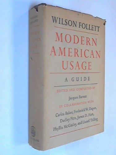 9780582117952: Modern American Usage