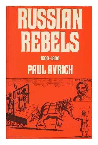 9780582127203: RUSSIAN REBELS 1600-1800