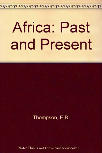 9780582159761: Africa: Past and Present