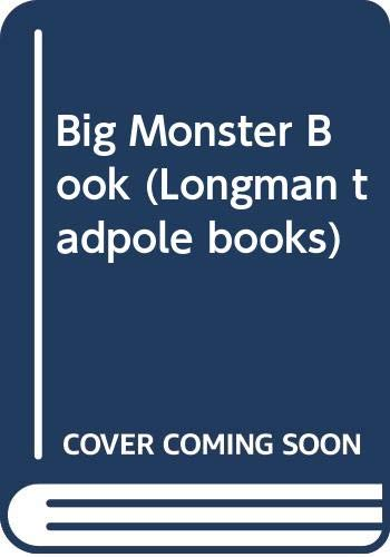 9780582186132: Big Monster Book (Longman tadpole books)
