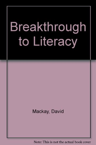 At School.A book in the Breakthrough Series: Mackay,David,Thompson,Brian & Schaub,Pamela