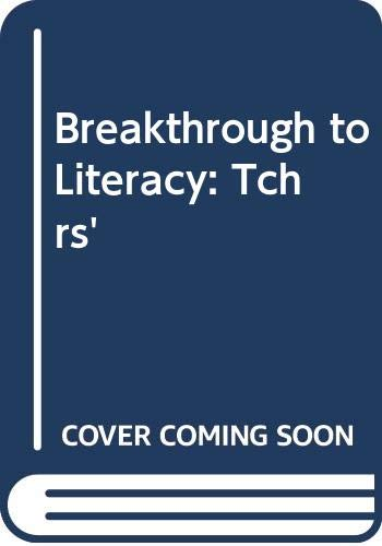 9780582191341: Breakthrough to Literacy: Tchrs'