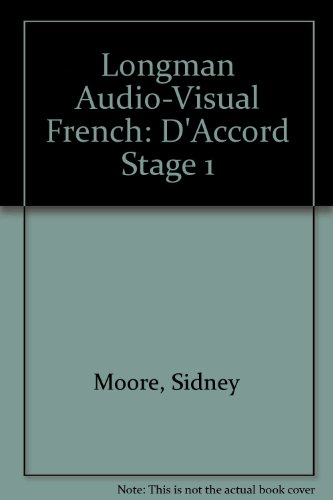 9780582202207: Longman Audio-Visual French: D'Accord Stage 1
