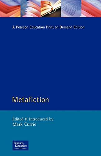 9780582212923: Metafiction